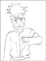 Kleurplaat Naruto Uzumaki Gratis Kleurplaten