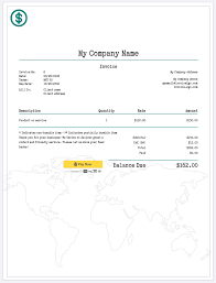 Simple Invoice Template Free How To Create A Professional Invoice Sample Invoice Templates 8