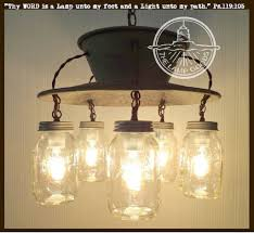 mason jar lighting fixture. an exclusive lamp goodsu0027s mason jar chandelier 5light light fixture lighting