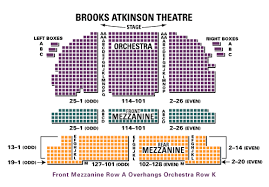 Brooks Atkinson Theatre Seating Chart Brooks Atkinson Theatre Broadway Rain A Tribute To The