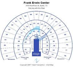 Frank Erwin Center Tickets Frank Erwin Center In Austin