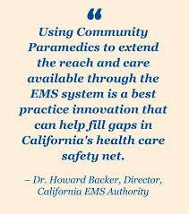 Healthcare Gov Quote Awesome Community Paramedicine EMSA