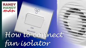 The guide below will tell you which kitchen appliances need to be placed into a unit and which ones don't. Bathroom Fan Timer Switch Isolator Installation Connection Youtube