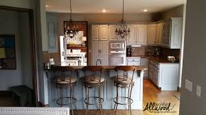 Transform Kitchen Cabinets Our Kitchens New Gray Cabinets Are Gorgeous