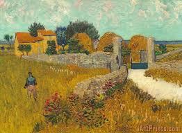 farmhouse in provence painting print art prints vincent van gogh art prints for