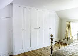 Classic shaker wardrobes Large fitted ...
