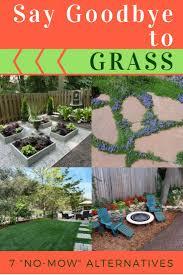 Goodbye Grass Inspiring Ideas For A No Mow Backyard Best Yard On Pinterest  Dog Friendly Decks