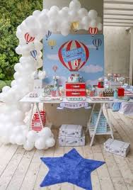 ... Hot Air Balloon Birthday Party. image source