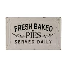 Amazoncom Vip Fresh Baked Pies Served Daily Metal Sign 155