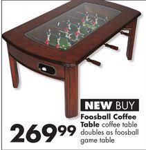 Foosball Coffee Table from Big Lots $269.99>