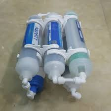 Bộ 5 lõi lọc chức năng 5678 dùng cho máy lọc nước RO gia đình