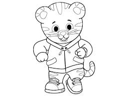 Daniel Tiger Coloring Pages Tiger Neighborhood Coloring Sheets Get