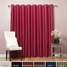 aurora home extra wide thermal 100 x 84 inch blackout curtain panel by aurora home