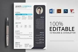 Resume Templates Design Word Cv Resume Template Creativework247