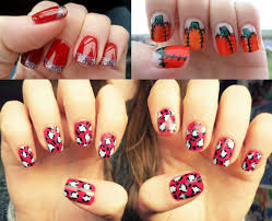 Easy Do It Yourself Christmas Nail Art - Best Nail Ideas