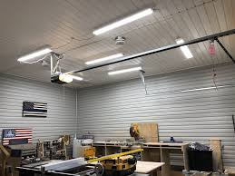 Fluorescent Garage Lights Led Shop Lights For The Garage With Alexa Control Led