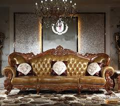luxury double color durable high quality leather sofa os 0314049