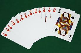 Thirteen Card Game The Thirteen Hearts And The Queen Of Spades 13