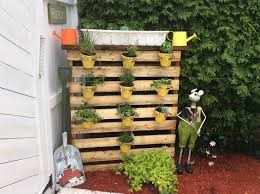 Vertical Kitchen Herb Garden Pallet Herb Garden Is The Solution For Limited Space