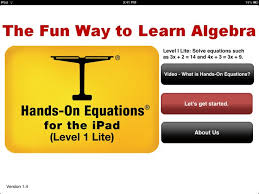 a free interactive ipad app to teach algebra edudemic math apps