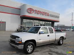 1999 Chevrolet Silverado 1500 LS Extended Cab 4x4 in Summit White ...