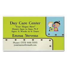 Child Care Abc Kids Business Card Magnet Zazzle Com