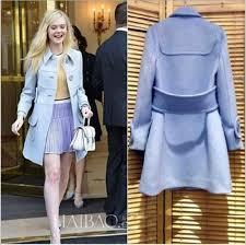 jacket blue dress wool long sleeves ons belt brands fashion winter coat autumn winter cashmere in style women clothes overcoat underwear