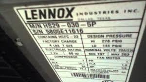 lennox 4 ton ac. 2005 2.5-ton lennox elite air-conditioner 4 ton ac