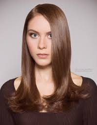 Sixties Hair Style sleek long blunt cut with a satiny finish 60s flip style inspired 6164 by wearticles.com