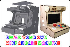 Cocktail Arcade Cabinet Kit Diy Mini Arcade Cabinet Porta Pi 9inch Assembly Guide Update