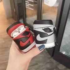 Vỏ bọc silicone bảo vệ hộp đựng tai nghe Airpods 1 2 3 Pro họa tiết Air  Jordan | Shopee Việt Nam