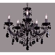 classic lighting rialto traditional black on black five light chandelier