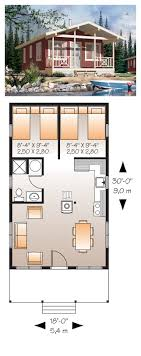 Narrow Lot House Plan 76167 | Total Living Area: 540 sq. ft.,