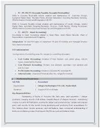 Sap Fico Sample Resume Sap Fico Resume Sample Pdf Popular Sap Bi Sample Resume For 2 Years