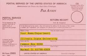 registered mail information