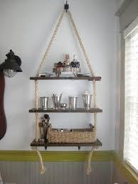 love this diy bathroom shelf making