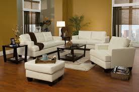 Stylish Sofa Sets For Living Room 2 Pc Cream Bonded Leather Stylish Sofa Loveseat Set