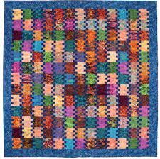 19 best Easy Weekend Quilts images on Pinterest | Quilt patterns ... & Super simple batik quilt: