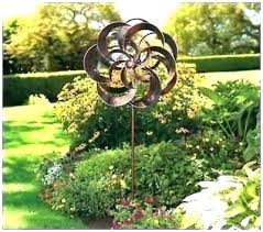 wind spinner metal outdoor spinners chic garden and decor kinetic windmill lawn yard hanging orna