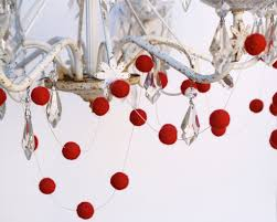 Winter Wedding Decor Wedding Ideas Decor Red Ball Garland