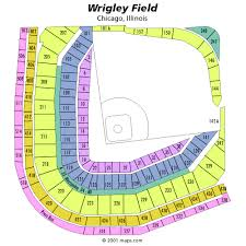 Wrigley Stadium Seating Chart Wrigley Field Tickets Get The Best Deals On Wrigley Field