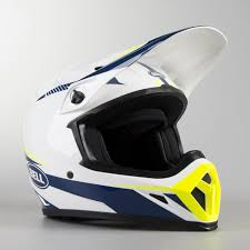Bell Moto 8 Size Chart Bell Mx 9 Mips Torch Mx Helmet White Blue Yellow Buy Now