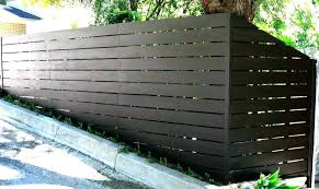 corrugated metal fence cost metal privacy fence corrugated
