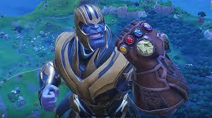 Regardez Thanos Tamponner, Détruire Et Danser À Fortnite - Comment Tech