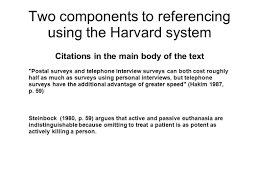 How To Put Two In Text Citations Harvard