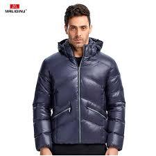 <b>MALIDINU 2019 Men</b> Down Jacket Winter Down Coat Brand Thick ...