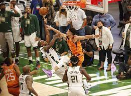 Bucks defeat Suns to even series in NBA Finals