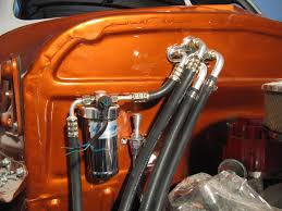 my chevy project the trinary switch is sitting atop the drier i installed a stainless steel transmission dip stick between the drier and the hoses as shown in the picture