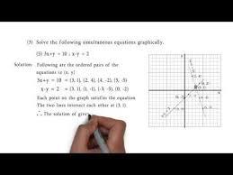 3x y 10 and x y 2 problem set 1