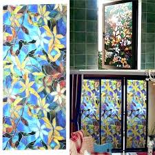 stained glass stained glass s for windows decorative window stained glass magnolia privacy window stained glass